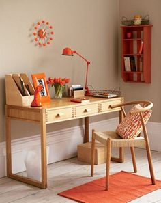 Осень в доме: элементы декора в оранжевых тонах