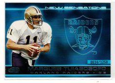 Sports Cards Football – 2001 Invincible #34/1250 (New Sensations) Marques Tuiasosopo