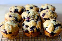 An obsessively good one-bowl blueberry muffin recipe with more berries than ever and a tall, bronzed, crunchy lid.