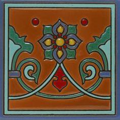 Prima Mexican Tile - Carmen II - Mexican Tile Designs