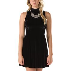 Vans Vixon Dress - perfect for holiday parties and winter layering