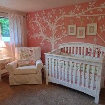 Beautiful little girls nursery