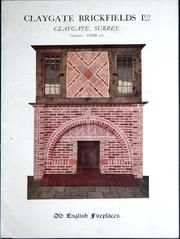 Suggestions for Brick and Tile Fireplaces, Chimneys, Pergola Columns, Garden Ornaments : Elliott's West Howe Pottery (Dorset) Ltd. : Free Download & Streaming : Internet Archive