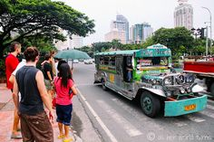 Jeepneys are the most popular way to get around in the Philippines -- Walking tour of Manila -- READ MORE: http://www.asherworldturns.com/welcome-to-the-philippines-a-tour-of-manila/