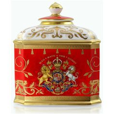 Coronation Tea Caddy Limited Edition - Coronation - Collections Royal Collection Trust Shop