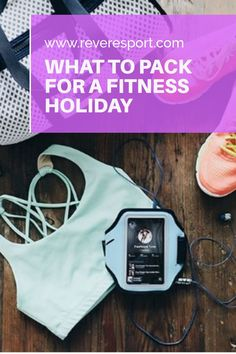 Whether you've booked your dream #fitness holiday or plan to keep in shape while you #travel - this post will help you #pack smart and stress free! Don't miss these essentials