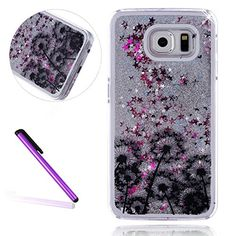 S7 Edge Case Samsung Galaxy S7 Edge Case for Girls EMAXELER 3D Creative Design Angel Girl Flowing Liquid Floating Bling Shiny Liquid PC Hard Case for Samsung Galaxy S7 Edge Silver Many Dandelion - http://todays-shopping.xyz/2016/07/23/s7-edge-case-samsung-galaxy-s7-edge-case-for-girls-emaxeler-3d-creative-design-angel-girl-flowing-liquid-floating-bling-shiny-liquid-pc-hard-case-for-samsung-galaxy-s7-edge-silver-many-dandelion/