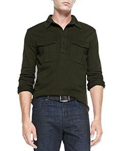 Ralph Lauren Black Label Men's Olive Green Long-Sleeve Mi... http://www.amazon.com/dp/B013CSP55Q/ref=cm_sw_r_pi_dp_nc3mxb0PVP0MH