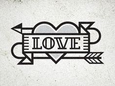 Love Icon by Kevin Burr