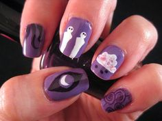 Inspired by the Supernatural - Welcome to Night Vale || Nail Design Newbie: #31DC2014 31-Day Challenge - Day 29