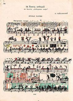 21 Most Creative Sheet Music Artworks