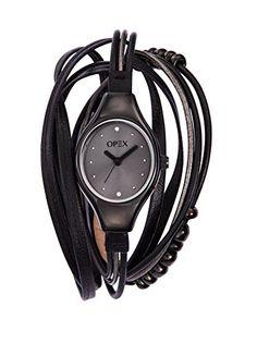Opex - X2345LA1 - Filante - Montre Femme - Quartz Analogique - Cadran Noir - Bracelet Cuir Noir Opex http://www.amazon.fr/dp/B009QUIFVQ/ref=cm_sw_r_pi_dp_RLUgwb07QD1CH