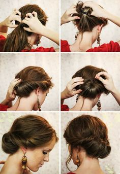 for simple low bun, elegant and bohemian hairstyles for parties and weddings. - - -Tutorials for simple low bun, elegant and bohemian hairstyles for parties and weddings. Bohemian Hairstyles, Elegant Hairstyles, Braided Hairstyles, Easy Hairstyle, Easy Homecoming Hairstyles, Easy Vintage Hairstyles, Easy Wedding Guest Hairstyles, Saree Hairstyles, Victorian Hairstyles