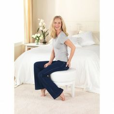 Pajamas you can wear in public OR jeans you can wear in bed!