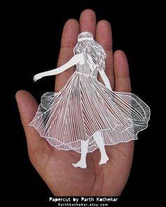 Miniature Papercut - Papercutting - Paper art by ParthKothekar.deviantart.com on @DeviantArt: