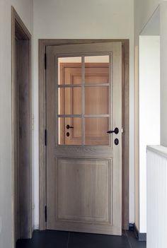 Flush Door Design, Interior Door Trim, Flush Doors, Interior Ideas, Interior Design, Pent House, Classic House, Glass Door, My Dream Home