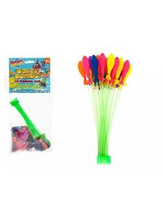 Water Bombs Balloon Set- Fill Balloon At Once Direct From Tap! Outdoor Toys, Outdoor Fun, Water Bombs, Star Chart, Water Balloons, Toys Shop, New Toys, Games, Pocket Money