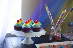 Rainbow Unicorn Birthday Party Ideas | Photo 26 of 26 | Catch My Party