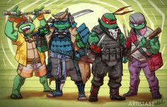Solo turtles