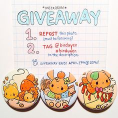 THANK YOU FOR 5K!!!! i'm giving away my ONLY set of dessert buttons to celebrate :) TO ENTER... 🌸 repost once 🌸 tag #birduyen (remember to be off private!)