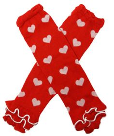 Red Heart Print Legwarmer... - Christiani-tee | Scott's Marketplace