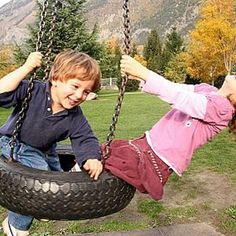 Hang a Tire Swing