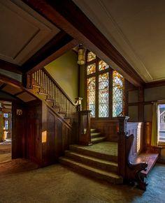 Frank Lloyd Wright:  Dr. Charles E. Cessna House #architecture #design #Frank_Lloyd_Wright @N17DG