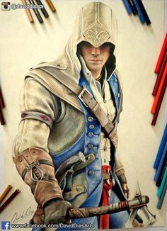 Conner Kenway detecting his father.