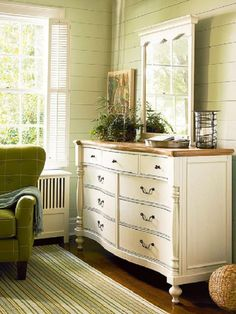 Follow these five easy steps to decorating the top of your dresser. You'll love the way your bedroom instantly takes on professional designer style.