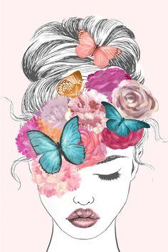 Butterflies In My Head Tall