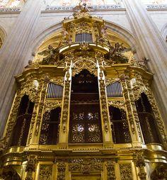 Organ - Segovia Cathedral - Segovia, Spain