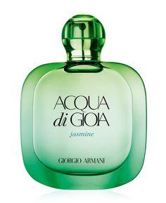 Parfum de l'été : Acqua di Gioia, Jasmine Edition de Giorgio Armani http://www.vogue.fr/beaute/shopping/diaporama/les-10-parfums-de-lt/21295#velvet-mimosa-bloom-de-dolce-gabbana