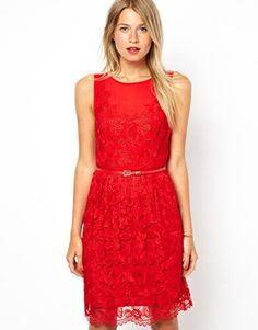 Buy Oasis Lace Dress at ASOS. With free delivery and return options (Ts&Cs apply), online shopping has never been so easy. Get the latest trends with ASOS now. Oasis, Little Red Dress, Cool Style, My Style, Summer Dresses, Formal Dresses, Lace Dress, Dress Red, One Piece