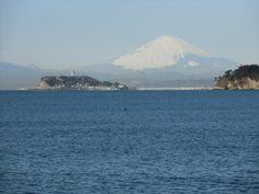 Mt.Fuji , view from Kamakura