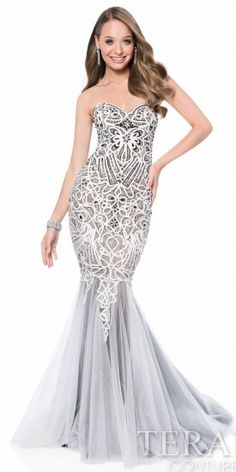 Monarch Sweetheart Prom Dress by Terani Couture #edressme