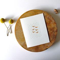 satsuma press fox cards