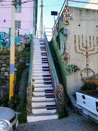 Valparaíso, Chile. 17 escadas (Foto: reprodução)