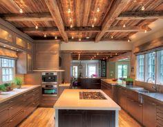 barn wood ceiling