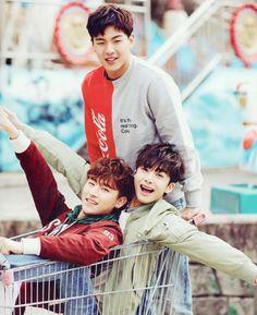 I.M, Shownu and Hyungwon | MONSTA X