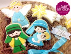Nativity Cookie set | Cookie Connection
