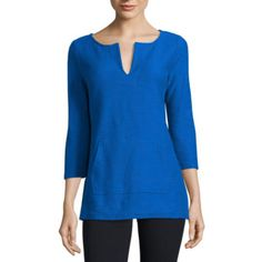 FREE SHIPPING AVAILABLE! Buy Liz Claiborne Tunic Top at JCPenney.com today and enjoy great savings.