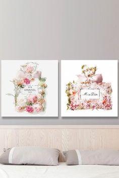 Blooming Canvas Art 2-Piece Set
