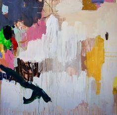"Todd Clark / Finding Strength 60"" x 60"" oil/acrylic on canvas toddclarkstudio.com"