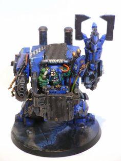 Warhammer 40000,warhammer40000, warhammer40k, warhammer 40k, ваха, сорокотысячник,фэндомы,Orks,Miniatures (Wh 40000),looted,Dreadnought