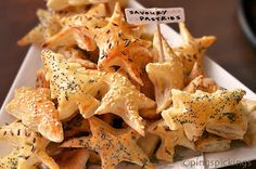 Cutest, chubbiest Christmas trees and stars - Savoury Pastry Munchies & Bloggers Unplugged   ping's pickings: