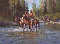 Covering Their Tracks (Jim C. Native American Models, Native American Warrior, Native American Images, Native American Artwork, American Indian Art, Native American Indians, Native Indian, Native Art, Tribal Images