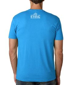 MENS-CREW-TURQUOISE-COLLEGE-TSHIRT-BACK