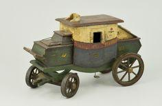 Mail coach New-York Modèle réduit 20ème siècle © L'Adresse Musée de La Poste / La Poste, DR