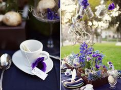 Dark & Twisty Tea Party ... perhaps blues and purples.