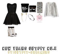 """""""NYE SET no.2"""" by outfit-dreamers ❤ liked on Polyvore featuring Sonix, Cartier, J.Crew, Victoria's Secret, Chicwish and NewYearsEve"""